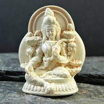 Statue - Green Tara - Small