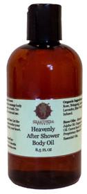 Heavenly after shower oil