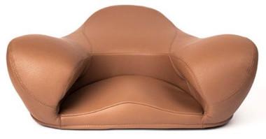 Alexia Meditation Seat - Vegan Leather - Brown