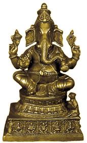 Statue - Brass Ganesh Murti