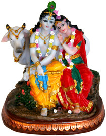 Statue - Divine Couple Murti 6""