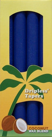 Royal Blue Palm Wax Taper Candles