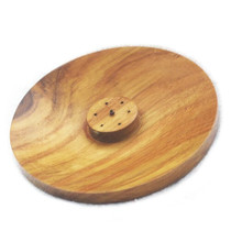 Teakwood Ash Catcher Dish Incense Burner
