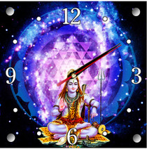 Wall Clock - Shiva Galaxy