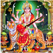 Wall Clock - Durga