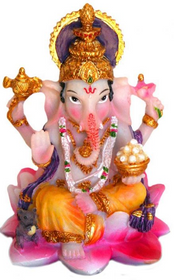 Mini Ganesh 3.5""
