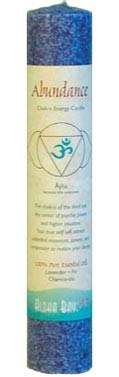 Chakra Energy Pillar Candle - Abundance