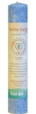 Chakra Energy Pillar Candle - Positive Energy