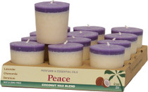 Votives - Perfume Blend with Essential Oils - Peace