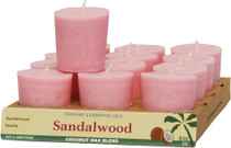 Votives - Perfume Blend with Essential Oils - Sandalwood