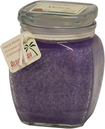 Square Top Jar - Perfume Blend with Essential Oils - Peace