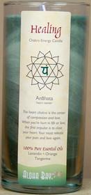 Chakra Energy Jar Candle - Healing