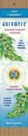 Auromere Ayurveda - Lily  Incense - Calming