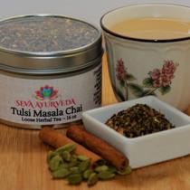 Tulsi Masala Chai Tea, 16 oz
