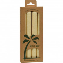 Cream Palm Wax Taper Candles