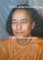 Paramhansa Yogananda Photograph  Art Print - 16 x 20