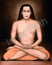 Mahavatar Babaji Picture - Color - Wallet Size