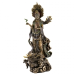 Quan Yin Avalokiteshvara on Dragon