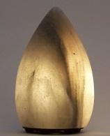 Grey Teardrop Salt Lamp