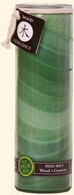 Feng Shui Tall Jars (Wood)