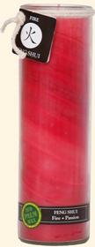 Feng Shui Tall Jars (Fire)