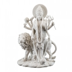Durga- Hindu Divine Mother (Marble Finish)