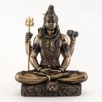 Statue - Shiva in Padmasana Lotus Pose
