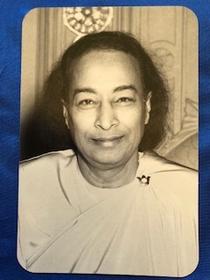 Paramhansa Yogananda Last Smile magnet