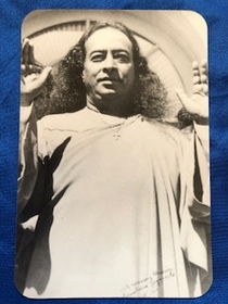 Paramhansa Yogananda - Birth of a New Era magnet