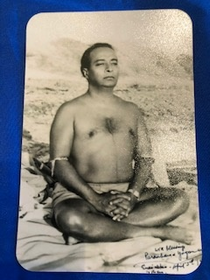 Paramhansa Yogananda Encinitas Beach magnet