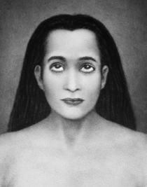 Mahavatar Babaji Picture -  B&W 8X10