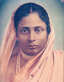 Paramhansa Yogananda photo - Master's Mother 5 X 7
