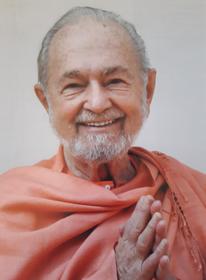 Swami Kriyananda Photo - Namaste 8X10