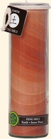 Feng Shui Tall Jar (Earth)