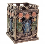Egyptian Scarab and Utility Holder