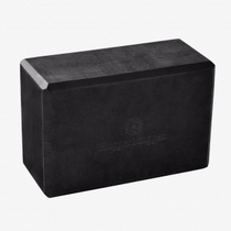 Yoga Block - Black Foam 4""