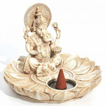 Ganesh Incense Cone Burner