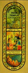 India Temple Incense - 60g