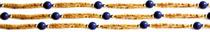 Tulsi Necklace - Lapis Lazuli