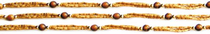 Tulsi Necklace - Tiger Eye