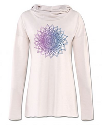 Soul Flower - Chakra Yoga Hoody