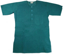 Men's Kurta - Short Sleeves - Teal