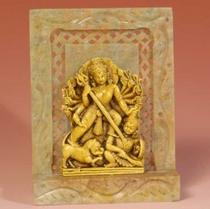 "Statue - Durga - Soapstone 4"""