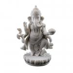 Statue - Ganesh Standing (Marble Finish)