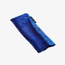 Piccolo Silk Eye Pillow with Flaxseed Filling (Indigo)