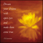 Dream Your Dreams with Open Eyes... Magnet