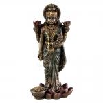 """Statue - Lakshmi - 3 """" (Resin)"""