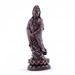 """Statue - Quan Yin Standing  - 5.5"""" (Resin)"""