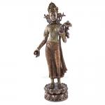 Statue - Tara Standing with the Lotus of Wisdom