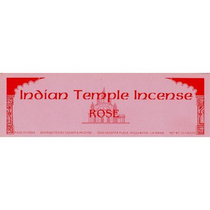 Indian Temple Incense - Rose